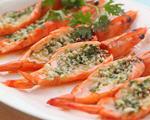 蒜蓉焗烤大虾