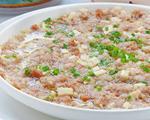 梅饼茭白蒸肉