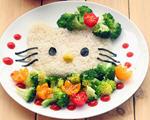 kitty造型米饭