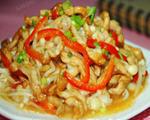 金针菇肉丝蒸米面