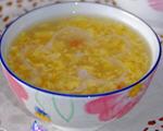 鸡蛋玉米羹