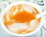胡萝卜汁凉粉