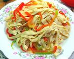 炒麻椒豆腐皮