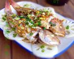 姜葱煎海鱼