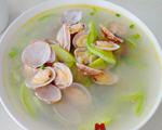 占瓜文蛤汤