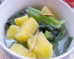 盐水芥菜番薯汤