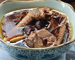 茶树菇炖鸽子