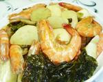 酸菜茭白虾