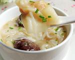 鲜虾云吞米粉汤