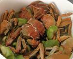 丝瓜毛豆河蟹汤