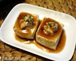 蚝汁酿豆腐
