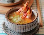 大虾丝瓜汤