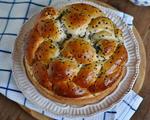芝麻辫子面包