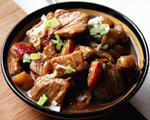 山楂炒肉片