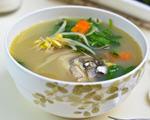 蔬菜鱼骨汤