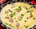 海瓜子蒸蛋