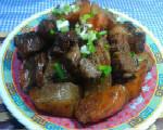 红白萝卜烧肉
