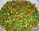 甜面酱焖豌豆胡萝卜丁
