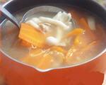 红萝卜平菇瘦肉汤