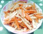 胡萝卜莲藕条