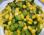 玉米炒青瓜粒
