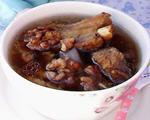 核桃排骨汤