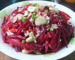 胡萝卜甜菜根沙拉