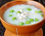 豌豆瘦肉粥