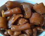 花生冬菇焖猪尾巴