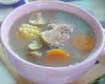 玉米板栗排骨汤