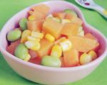 红薯炒玉米
