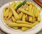 清炒笋玉米