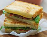 香脆培根三明治