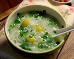 白果青菜粥