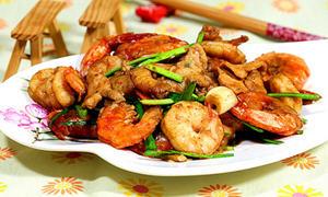肉片虾炒虾