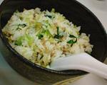 咸肉对虾干菜饭