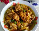 杏鲍菇烧鸡翅