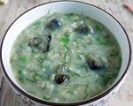 茴香皮蛋粥