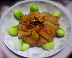 杏鲍菇扣青菜