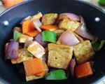 蚝油洋葱豆腐