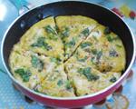 芝士口蘑煎蛋