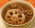 眉豆青橄榄莲藕汤