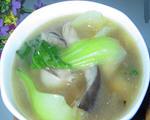 油菜蘑菇汤