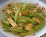 西葫芦烧豆腐