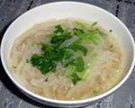 白萝卜粉丝汤