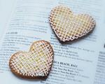 爱心糖霜饼干
