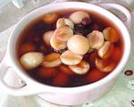 红豆莲子汤圆