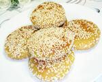 芝麻柿子饼