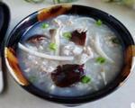 肉末茶树菇粥