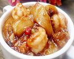 鱼香虾球茄子煲